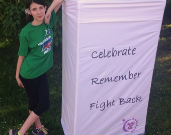 BIG Luminaria for Relay for Life or Holiday PDF Tutorial Instant Download