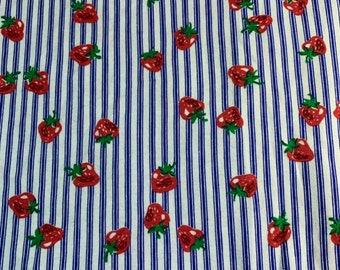 NEW-Knit-Strawberries -Sleep Blanket Sleeper Sack-Newborn-Handmade-Last One