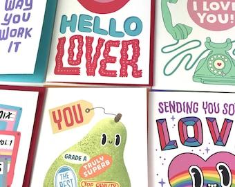 Buy 4 get 1 free - Choose any designs - Greeting cards discount bundle