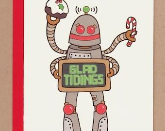 Robot Holiday Card