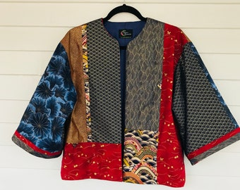 Kimono-Style Jacket with a Bit of Glitz