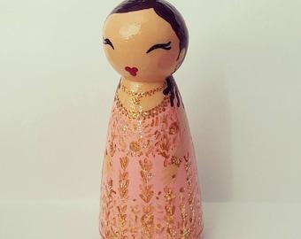 6 custom bridesmaid dolls for Priya