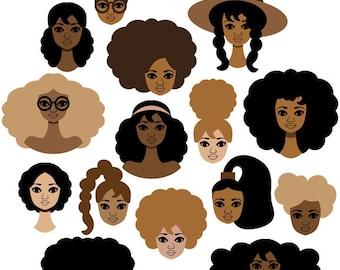 All My Sisters Art Print, Best Friends Illustration, Sisterhood Art, African American Wall Art, Feminism Art, Womanism Art, Sorority Art