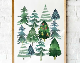 christmas art etsy christmas art etsy