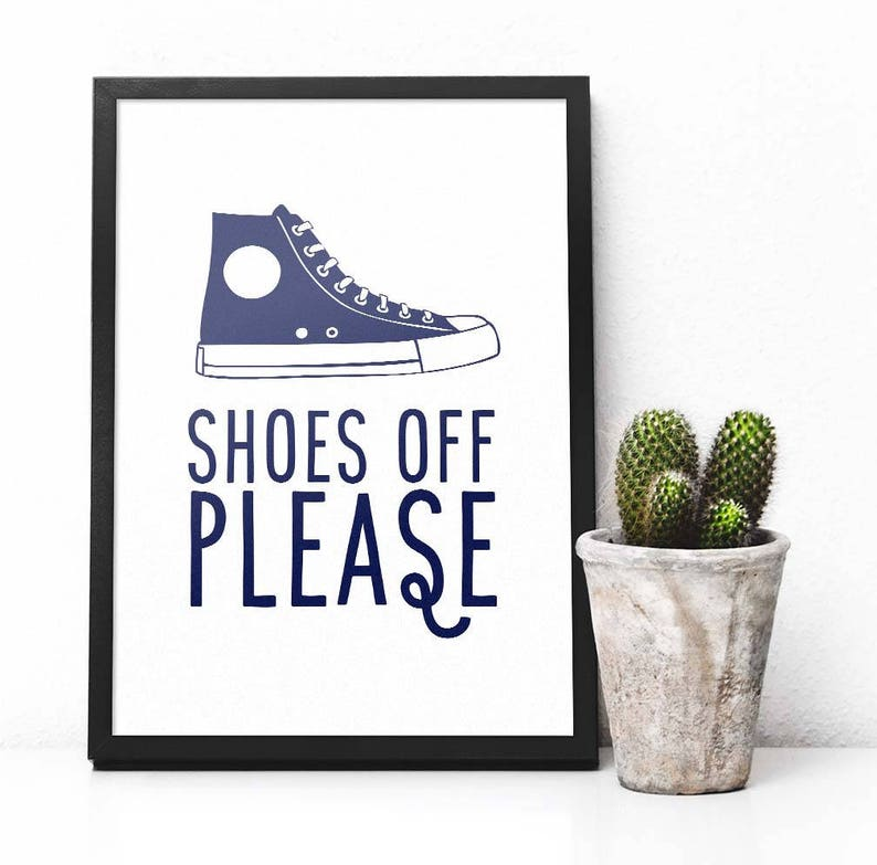 graphic regarding Printable Shoes titled Sneakers off make sure you printable sneakers off signal footwear significant-tops Hand lettering typography Excellent advertising and marketing print property decor Printable wall artwork