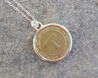 Boston T  Token Necklace
