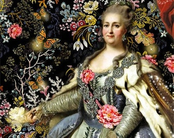 In the Enchanted Garden - Catherine the Great