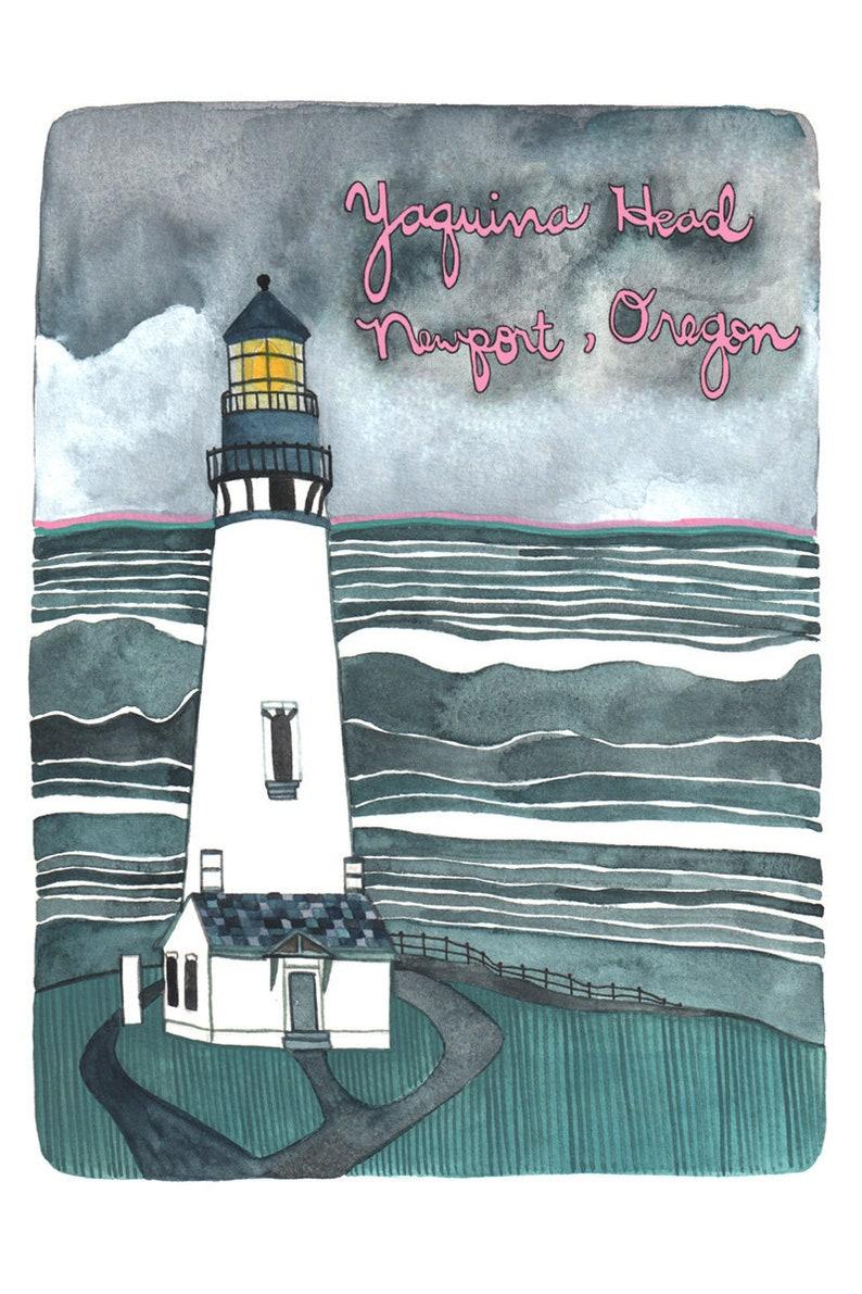 Yaquina Head Newport Oregon Coast Postcards