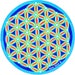 Anna Williams reviewed Cosmic Circle, Turquoise Flower of Life, Sacred Geometry, Sun Light catcher Window cling, Visualization, Ancient Symbol