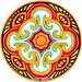 Courtney Cooke reviewed Cosmic Circle, Myco Eye, Sun Light catcher window cling, Magical Mushroom, Third Eye Visualization, Eco-friendly Art, Home decor, Mycophile