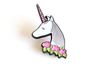 Unicorn enamel pin | limited edition