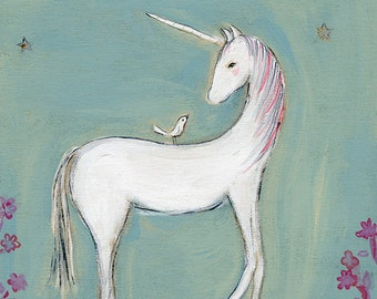 what if all your dreams came true | the unicorn | print