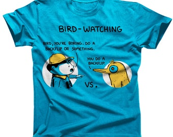 Bird-Watching Tshirt (Ladies sizes are a Junior Fit)