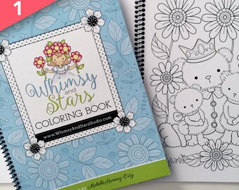 Coloring Book with Spiral Binding - Volume 1