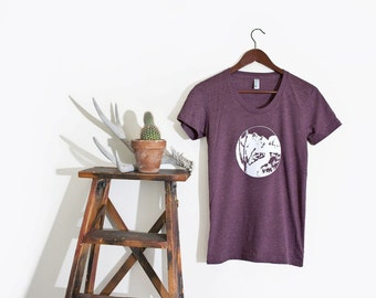 327de2613f0 Desert Cactus Graphic Tshirt | Vintage Inspired Top | Bohemian Boho Graphic  Tee | Desert Graphic T-Shirt | Ethically printed in our USA loft