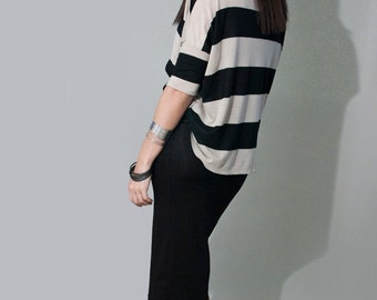 Black Pencil Skirt | Below the Knee | Fold Over Band Skirts | Women's Skirts | Ethically made in our loft | L415 & Co Clothing (#415-12)