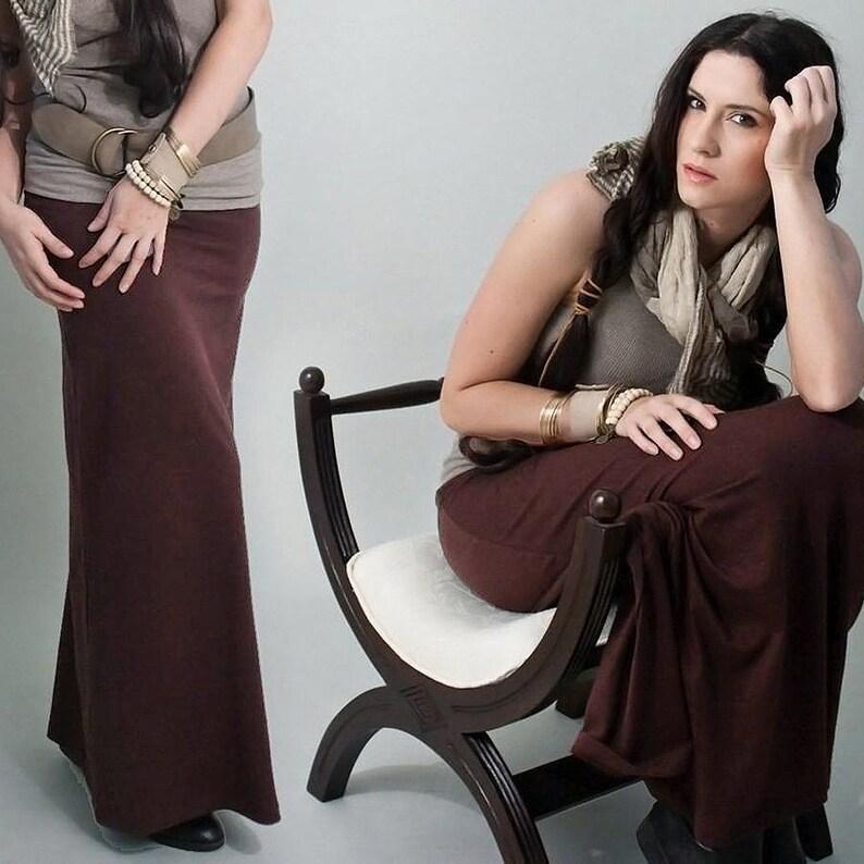 642237becceab Maternity Maxi Long Skirt Petite Length Skirts Tall   Etsy