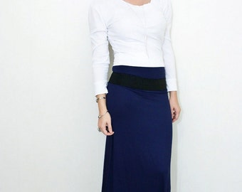 Maxi Skirt | Women's Skirts | Tall Petite Length | Floor Length Skirt | Ethically made in our USA loft | L415 & Co Clothing (#415-100)