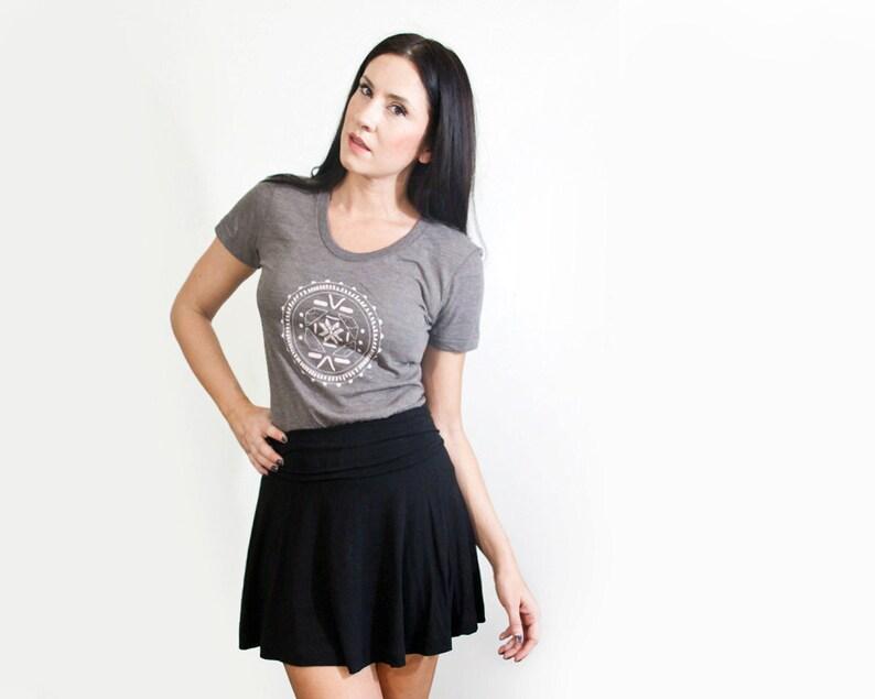 1195c69dda Black Mini Skirt Women's Skater Skirts Full Skirt | Etsy