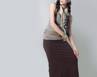 Long Skirt | Boho bohemian Maxi | Floor Length Skirts | Tall Petite Length | Ethically made in our loft | L415 & Co Clothing (#415-100)