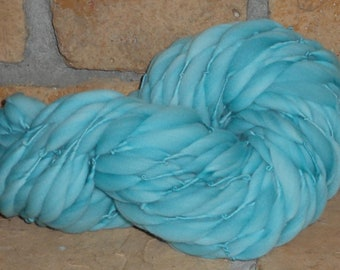 Soft Teal Thick n Thin Merino wool 51 yards 3 oz