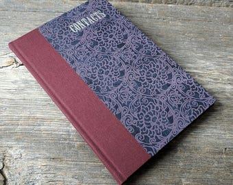 Address book - handbound