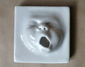 Baby Face Tile w/nosering, Ready to ship