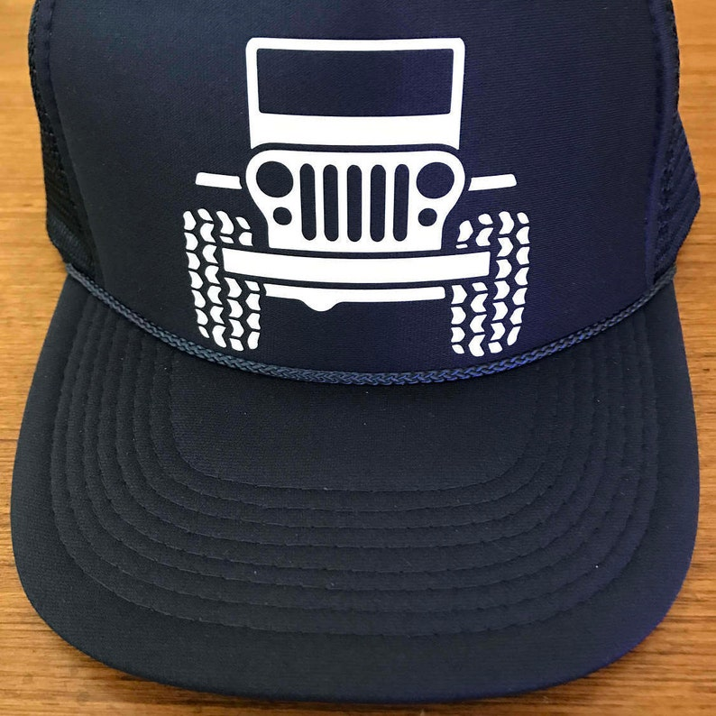 dba331c0 Jeep Trucker Hat   Etsy