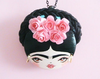 Frida 1 Doll Face Necklace