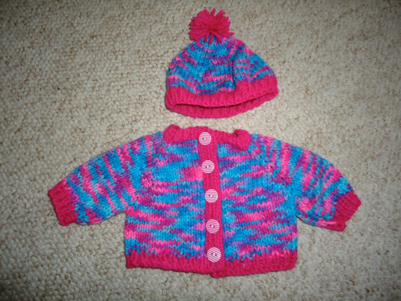 Handknitted American Girl Doll Sweater image 0