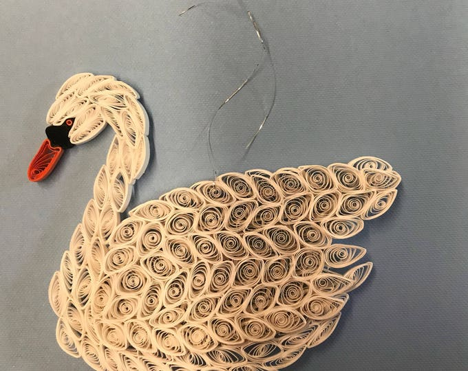 Quilled Mute Swan