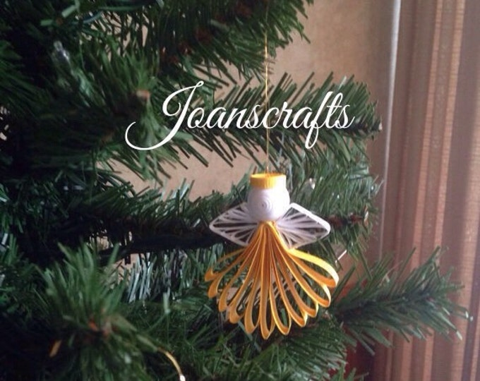 New Quilled Little Angel Ornament