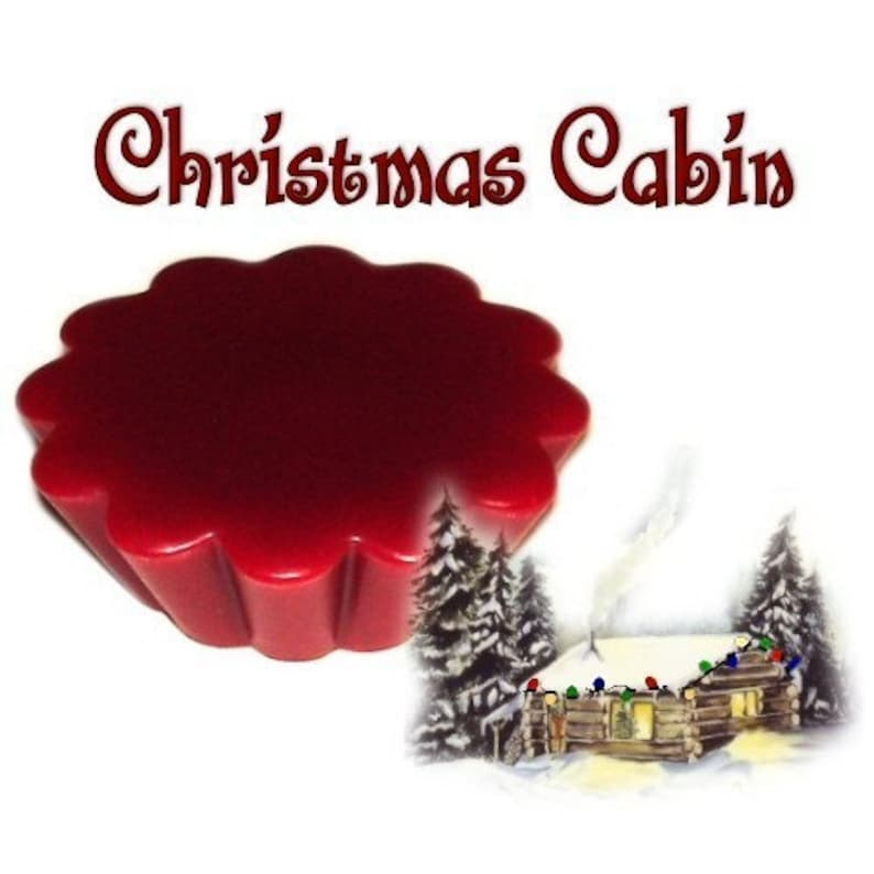 4 Christmas Cabin Tarts Wickless Candle Melts Spicy Scent