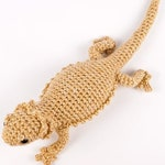 PDF Bearded Dragon (lizard) amigurumi CROCHET PATTERN
