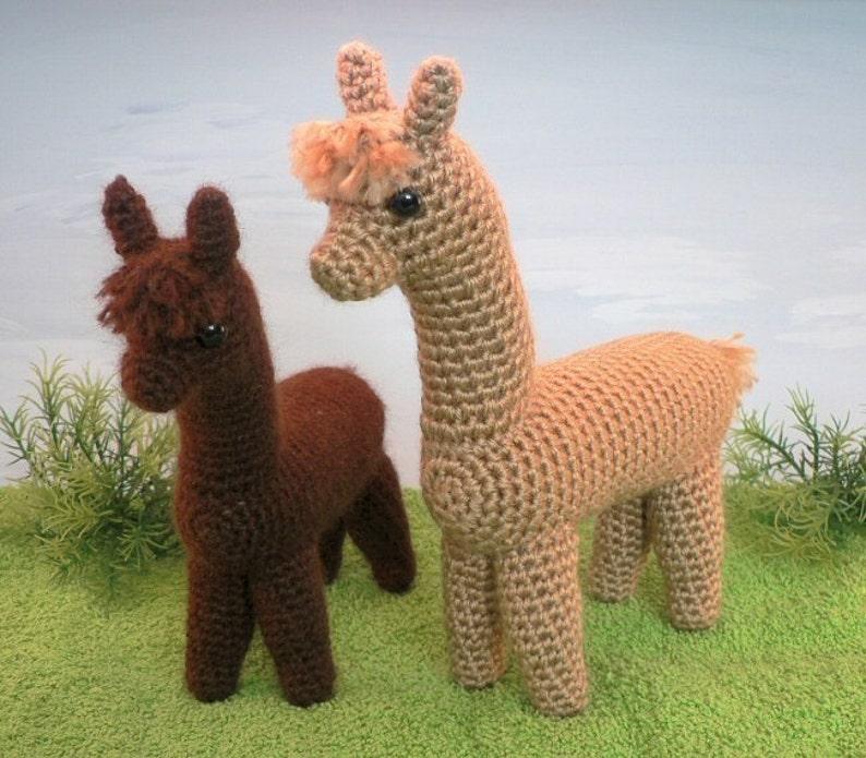 PDF Alpaca amigurumi CROCHET PATTERN digital file download image 0