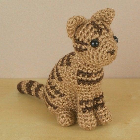 PDF AmiCats Tabby Cat Amigurumi Cat CROCHET PATTERN Etsy New Cat Crochet Pattern