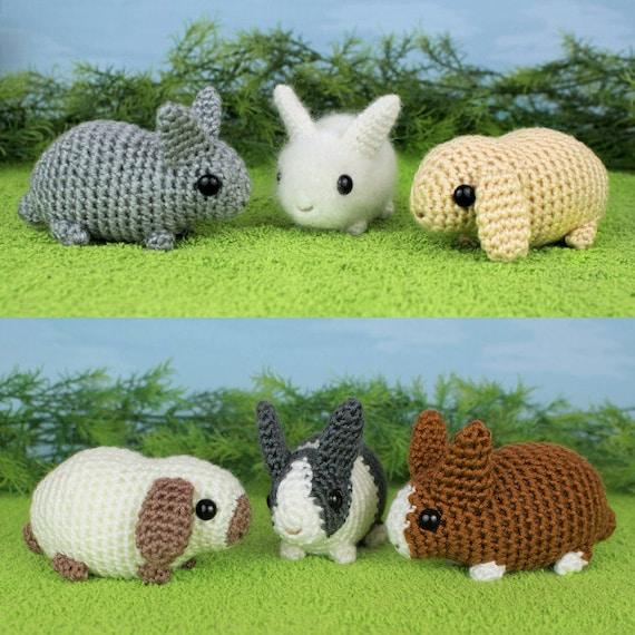 Baby Bunnies, Crochet Bunny, Amigurumi Bunny, Crochet Rabbit ... | 570x570