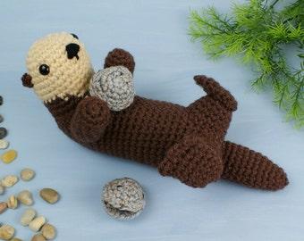 PDF Sea Otter amigurumi CROCHET PATTERN