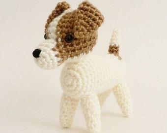 AmiDogs Jack Russell Terrier amigurumi dog CROCHET PATTERN digital PDF file download