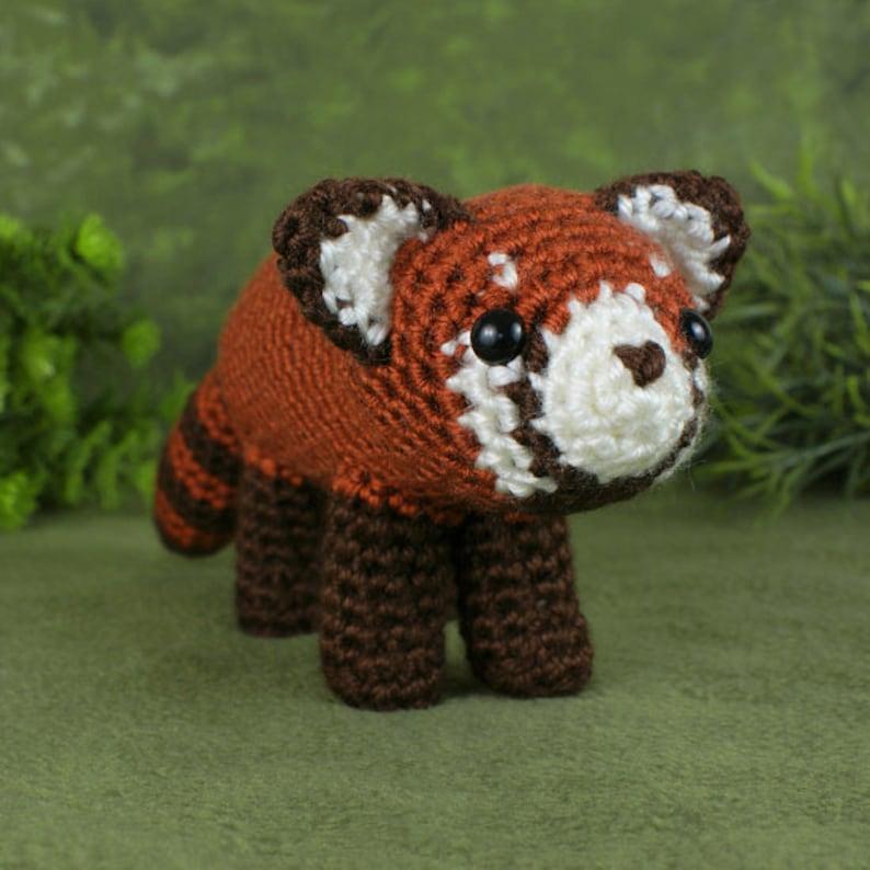 Panda Bear (English), PDF crochet bear pattern, cute crochet panda ... | 794x794