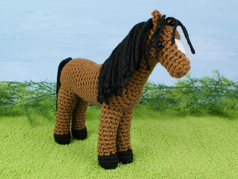Pdf Horse Amigurumi Crochet Pattern Etsy