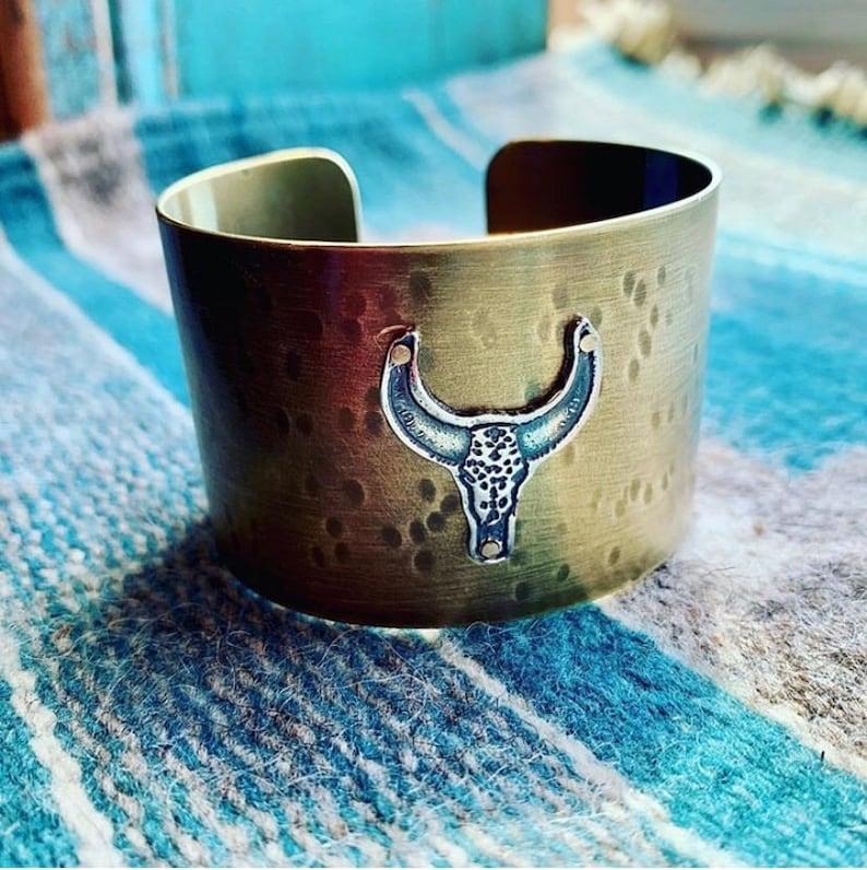 Bull Cuff Bracelet