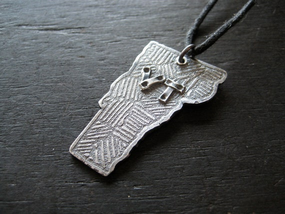 Vermont Pendant - Sterling Silver