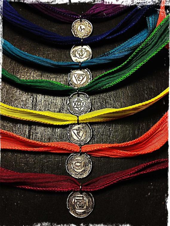 3 Chakra Wraps - You Choose Which 3