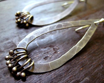 Embellished Tear Drop Earrings