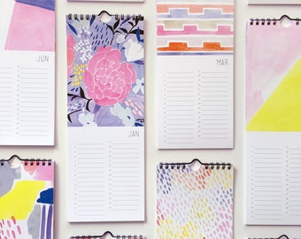 "2021 Calendar, Perpetual Calendar, Birthday, Events, To-do List - ""Hello Happy"""