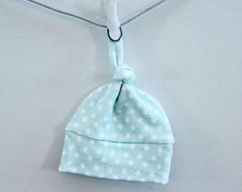 baby hat arrow star mint Organic knot modern newborn shower gift photography prop hospital outfit accessory neutral girl boy