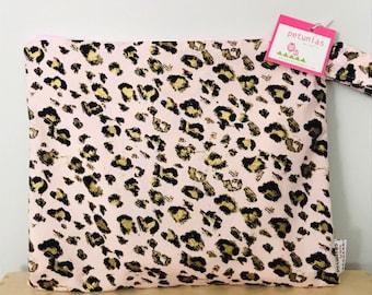 Wet Bag wetbag Diaper Bag ICKY Bag wet proof pink leopard gym bag swim cloth diaper accessories zipper gift newborn baby kids beach bag