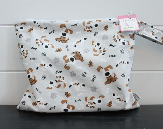 Wet Bag wetbag Diaper Bag ICKY Bag wet proof grey brown dog gym bag swim cloth diaper accessories zipper gift newborn baby kids beach bag