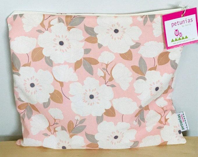 Wet Bag wetbag Diaper Bag ICKY Bag floral organizer cosmetics toiletries gym bag swim cloth diaper accessories zipper gift baby kids